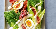 How do you cook classic caesar salad? get instruction detail. This classic salad is a standout when its made with the best ingredients and a little knowhow Easy Salads, Healthy Salads, Healthy Dinners, Classic Caesar Salad, Fast Dinners, Caprese Salad, Salad Recipes, A Food, Food Processor Recipes