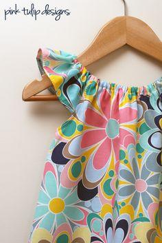 pink tulip designs Summer Fun Sophie dress