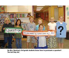 punctuation lesson idea