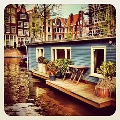 Amsterdam Life on the water
