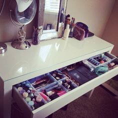 IKEA Malm Vanity Dressing Table
