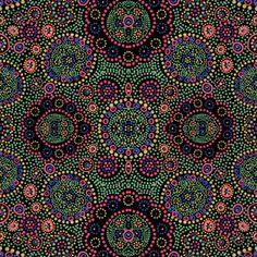 Polka Dot Tribal Pattern by Lauren Thomas Designs Seamless Repeat Royalty-Free Stock Pattern Polka Dot Print, Polka Dots, Textures Patterns, Print Patterns, Floral Pattern Wallpaper, Textile Design, Original Artwork, Women Wear, Ethnic