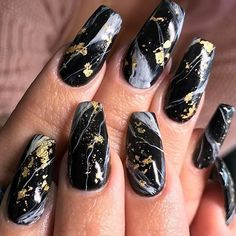 "2,075 Likes, 12 Comments - NAILPRO (@nailpromagazine) on Instagram: ""Love this luxe marble and gold by Arizona-based #nailpro @buddhasnails. ✨ #nailprodigy…"""