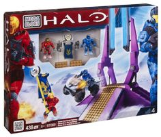 Amazon.com: Halo Mega Bloks Exclusive Set #97069 Versus Snowbound Highbase: Toys & Games