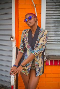 "blackfashion: "" Model: Zoe Photographer: Courtnee Owens Styled by Rocker's Closet """