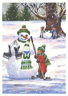 Merry Christmas From The Hartford Whalers