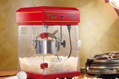 Popcorn-kone Starter Set, Snacks Für Party, Maker, Retro, Sweet 16, Gadgets, Household, Kitchen Appliances, Cotton Candy