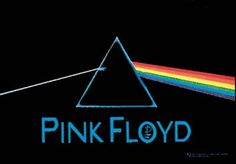 Pink Floyd Dark Side Fabric Poster