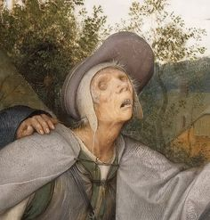 Pieter Brueghel the Elder - The Blinds (detail) Italian Painters, Dutch Painters, Renaissance Paintings, Renaissance Art, Blind Leading The Blind, Pieter Bruegel The Elder, Dream Pictures, Hieronymus Bosch, European Paintings