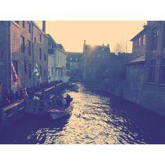 Boat rides in Bruges