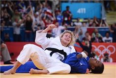 Judo's Gemma Gibbons fights her way to silver