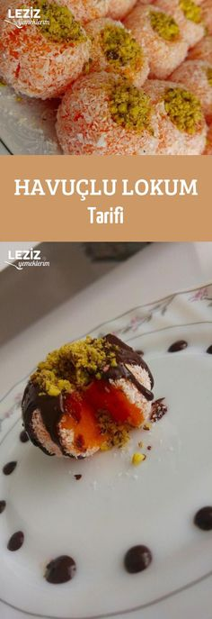 Havuçlu Lokum Tarifi Turkish Recipes, Italian Recipes, Mousse Au Chocolat Torte, Turkish Sweets, Turkish Kitchen, Food Club, Turkish Delight, Fresh Fruits And Vegetables, Fish And Seafood