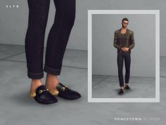 Gucci Princetown Slipper for The Sims 4