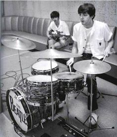 Little do people know that Paul also played drums in the Beatles. In fact he was the drummer before Ringo joined the band.