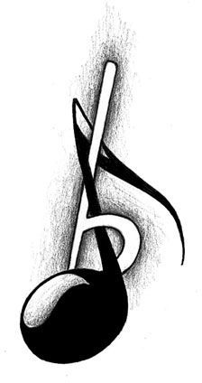 Music Tattoo Designs | The Body is a Canvas