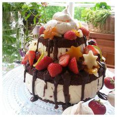 Kakkubuffee: Nakukakku eli naked cake
