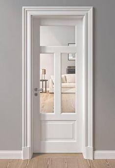 Monument protection and villa doors Interior Door Trim, Door Design Interior, Closet Door Makeover, Villas, Love Your Home, Folding Doors, Room Doors, Internal Doors, Entrance Doors