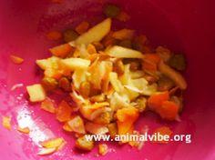 Ricetta per cani: mela, carota e crocchette vegane