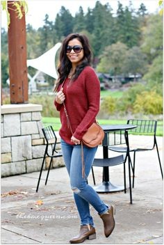 Emily Rose Ellis Zipper Detail Henley Pullover | Stitch Fix Style | Stitch Fix Outfits | Fall Fashion