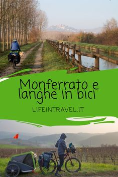 Monferrato and Langhe crossing by bike .- Traversata del Monferrato e delle Langhe in bici ✨ Crossing of Monferrato and Langhe by bike ✨ - Travel Deals, Travel Destinations, Have A Nice Trip, Travel With Kids, Touring, Places To See, Around The Worlds, Country Roads, Landscape