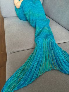 $3.64 Chic Quality Mermaid Design Blanket For Kids