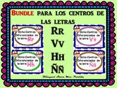 """BUNDLE++Ocho+Centros+de+las+letra+"""",+Vv,+Hh+y+Rr""""+diferenciados+en+tres+niveles:+Sonidos+Iniciales,+Slabas+Iniciales,+Palabras+y+escritura+de+Oraciones++Ocho+Centros+de+la+letra+""""""""+diferenciados+en+tres+niveles:+Sonidos+Iniciales,+Slabas+Iniciales,+Palabras+y+escritura+de+Oraciones+CCSS+NO+REQUIERE+PREPARACION!"""