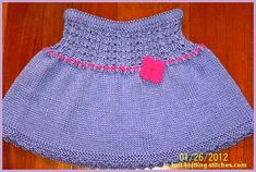 short skirt for toddlers and girls in double-eyelet- rib pattern. short skirt for toddlers and girls in double-eyelet- rib pattern. Record of Knitting String rotating, weaving and stitch. Free Baby Patterns, Easy Knitting Patterns, Knitting For Kids, Knitting Designs, Baby Knitting, Knitting Ideas, Free Knitting, Easy Patterns, Knitting Projects