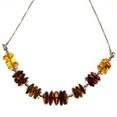 Ezüst nyakék borostyán kővel /76319/ Jewelry, Jewlery, Jewerly, Schmuck, Jewels, Jewelery, Fine Jewelry, Jewel, Jewelry Accessories
