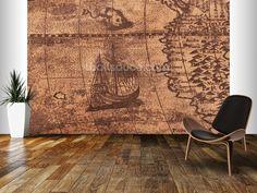 mural wallpaper room setting