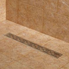 Effendi Linear Shower Drain - Shower and Tub Drains - Bathroom 91bfd8528b99