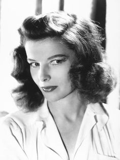 Photographic Print: Katharine Hepburn : 24x18in Hollywood Glamour, Classic Hollywood, Katharine Hepburn, Tv Series, Actresses, Photo And Video, Hair, Catalog, Instagram