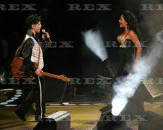 Prince 'Welcome 2 America' Tour concert, Madison Square Garden, New York, America - 18 Dec 2010 Prince and Sheila E 18 Dec 2010