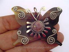 Ethnic Bull's Horn Butterfly Pendanthttp://www.wholesaleperuvianjewelry.com