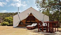 Cabañas Cuatrocuatros is located in northern Mexico, just two hours from San Diego. 8 Luxury Camping Trips That Are Worth It via @PureWow