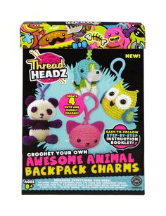 Awesome Animals Backpack Charms Kit | Girls Crafts Toys & Crafts | Shop Justice