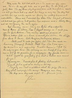 A Letter From John Steinbeck nostalgia for when there was no email Pen And Paper, Bookcases, Handwriting, Sword, Journals, Indigo, Sheet Music, Nostalgia, Fonts