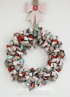 an inside to my heart holidays from the heart blog hop sparkle shine wreath - Elegant Christmas Ornaments