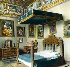 I think a look at the Borgia apartments in the Vatican would be very interesting.