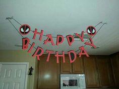 Deadpool party
