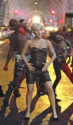Still from the next music video: Marry The Night <3