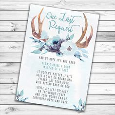 Boy Baby Shower Invitation, Woodland Baby Shower, Deer Baby Shower, Boho, Antler, Oh Deer, Oh Boy, Baby Boy, Tribal, Blue, Printable Invite :) Hello! I am very glad to see you in my shop! :) This 4x6 or 5x7 inch Boy Baby Shower Invitation personalized with your choice of wording and delivered to you as a digital file to print yourself. *** You will receive your digital proof within 24 hours WITHOUT RUSH ORDER FEES! --------------------------------------------- HOW TO PURCHASE 1) Select file ... Elegant Baby Shower, Boho Baby Shower, Baby Shower Fall, Baby Boy Shower, Baby Shower Gifts, Baby Shower Sweets, Girl Baby Shower Decorations, Baby Shower Parties, Oh Deer