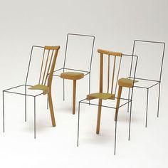 The Place Keeper Chair by Julian Sterz - Design Milk Scandinavian Furniture, Scandinavian Design, Chair Design, Furniture Design, Stock Design, Instalation Art, Interior Architecture, Interior Design, Under The Table