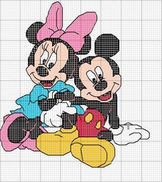 Minnie and Mickey ♥