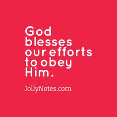 God blesses our efforts to obey him – 3 Inspiring Examples | Joyful Living Blog