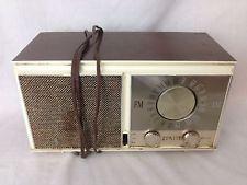 VINTAGE ZENITH TUBE AM/FM RADIO M-723 ( MADE IN U.S.A. ) Working
