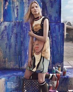 Suvi Koponen by Benny Horne for Vogue Korea April 2014 3