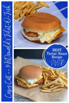 Mcdonalds Tartar Sauce Recipe, Mcdonalds Recipes, Sandwich Sauces, Copycat Recipes, Filet O Fish Recipe, Mcdonald's Filet O Fish, Secret Sauce Recipe, Snacks, Recipes