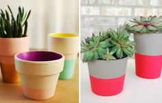 Macetas by tammi Potted Plants, Love Art, Planter Pots, Craft Projects, Diy Crafts, Green, Handmade, Inspiration, Exterior