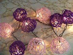 Kims Kandy Kreations: Yarn Ball Decoration Lights