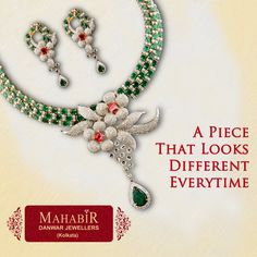 A ‪#‎Piece‬ That ‪#‎Looks‬ ‪#‎Different‬ Everytime - ‪#‎MahabirDanwarJewellers‬